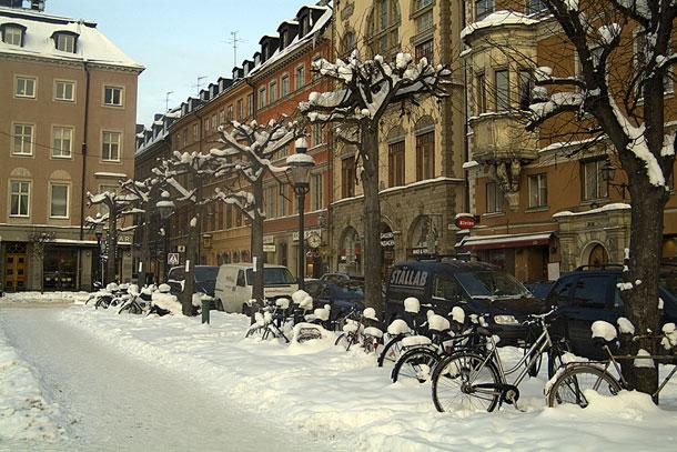 Стокгольм. Велики замело