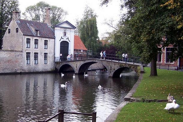 Озеро любви в Брюгге