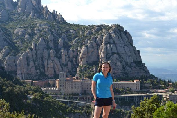 Гора Монсеррат в Испании