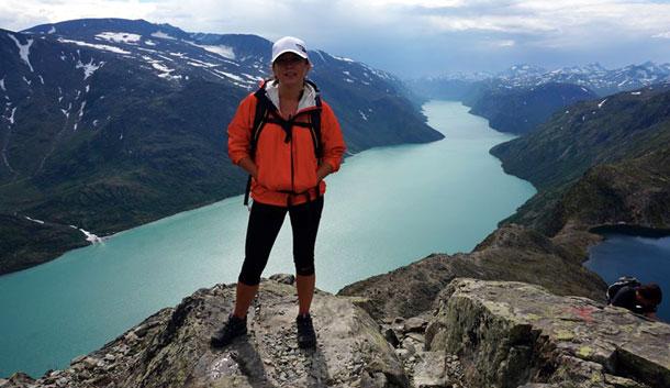 Гора Бессегген, Норвегия.