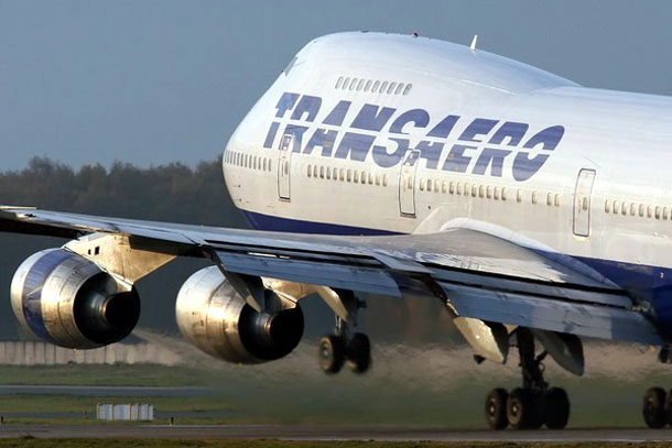Самолет Трансаэро