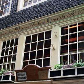 Рюмочная Wynand Fockink в Амстердаме