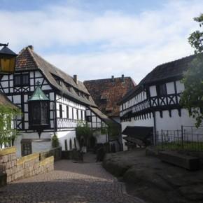 Замок Вартбург в Тюрингии