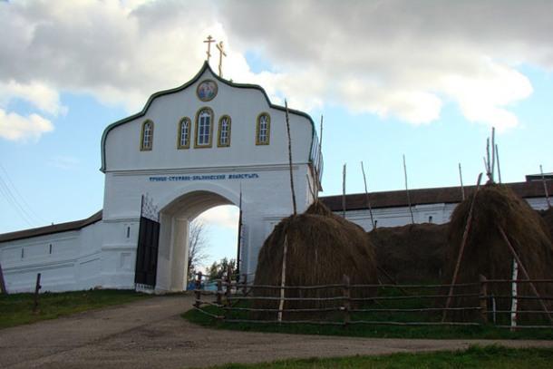 Монастырь в Коми