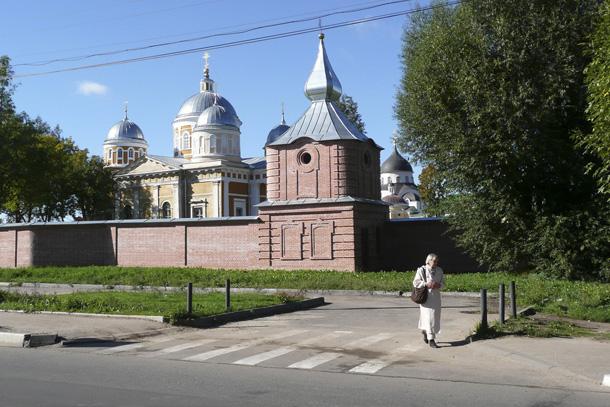 монастырь в Твери