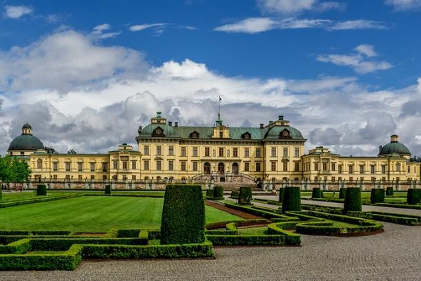 Королевский замок в Швеции