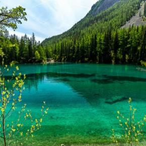 Зеленое озеро: природный феномен Альп