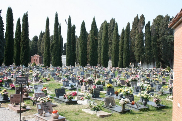 Остров-кладбище Сан-Микеле
