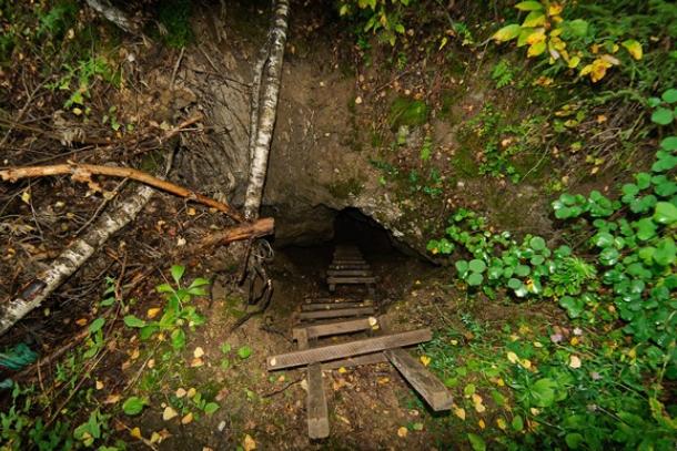 Главный вход в пещеру