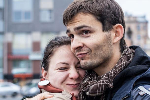 Лена и Никита Дацко