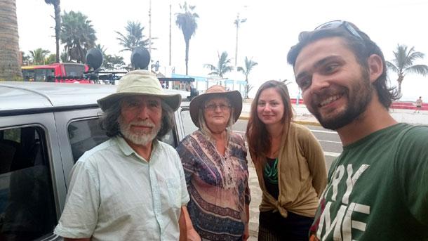 Каучсёрфинг в Перу у пары 68 и 74 лет