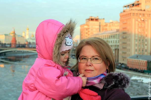 В Москве на Патриаршем мосту