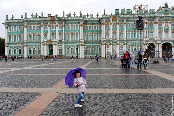 На Дворцовой площади, Петербург