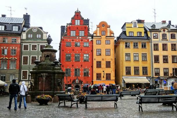 Площадь Stortorget