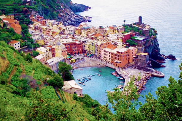 Вернацца — аутентичный рыбацкий городок на Итальянской Ривьере