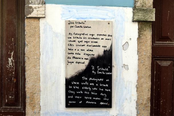 табличка с текстом квартал морария