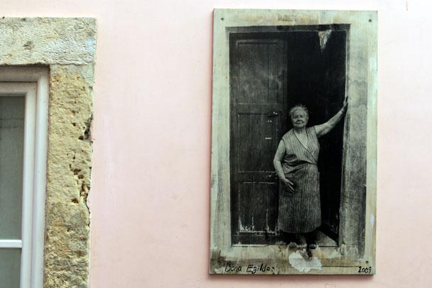 черно-белое фото лиссабон