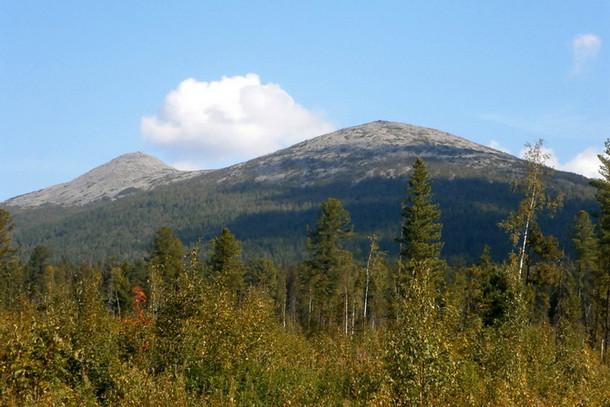 Кваркуш - горный хребет на Северном Урале