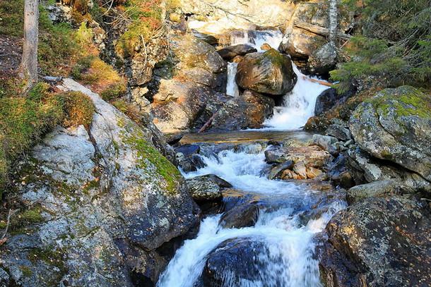 Жигаланские водопады, Северный Урал