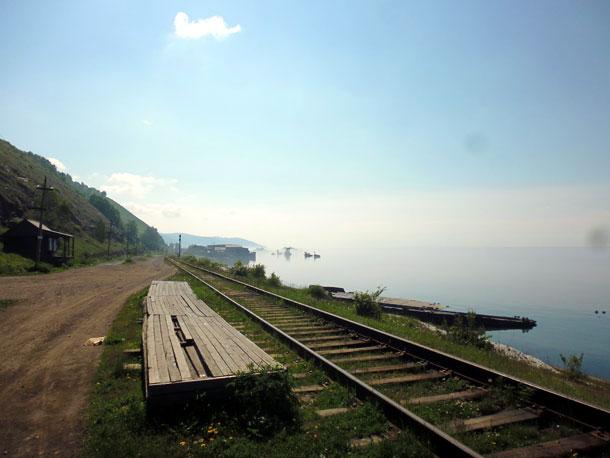 Озеро Байкал. Кругобайкальская железная дорога