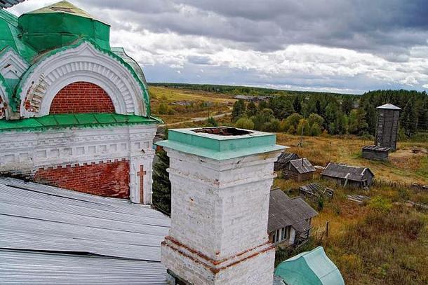 Кылтовский Крестовоздвиженский монастырь, республика Коми