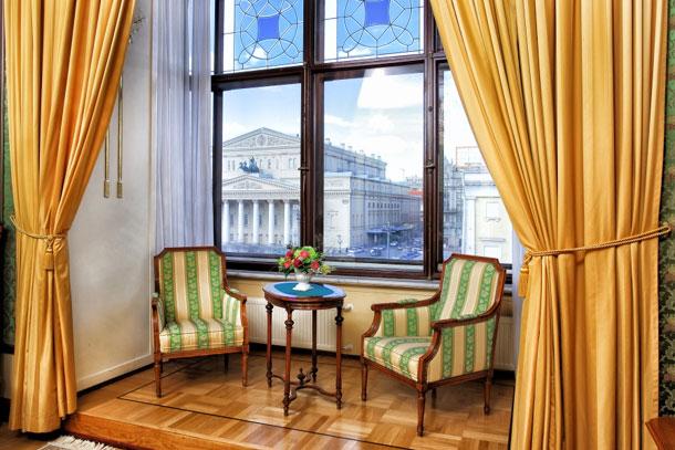 Отель Метрополь в Москве