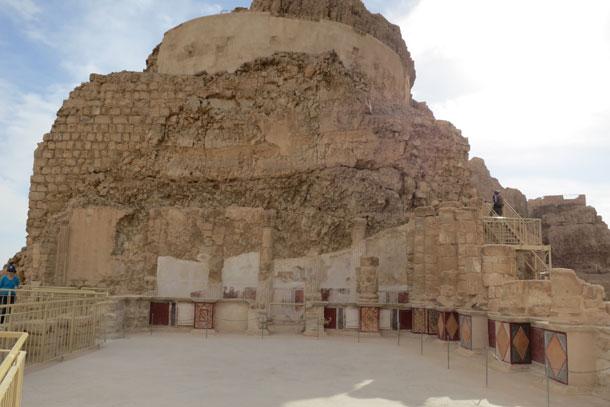 Крепость Масада. Мертвое море, 2014