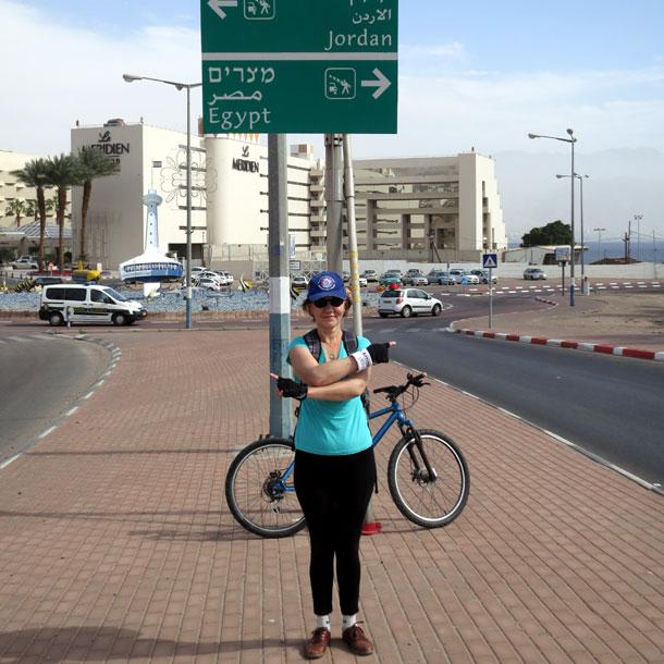 Израиль. Велопрогулка по Эйлату, февраль 2014
