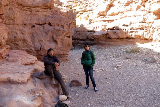 Красный каньон, Эйлат, 2014