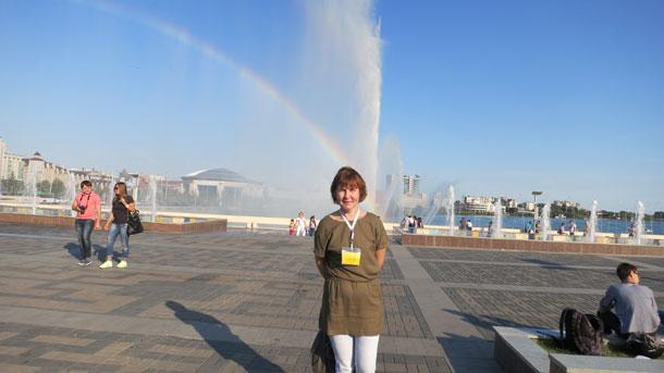 Казань, площадь фонтанов, 2010
