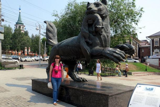 Иркутск, Бабр - символ города