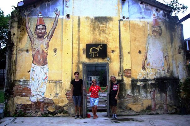 Художник Эрнест Захаревич, дающий вторую жизнь стенам домов