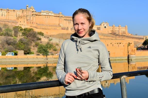 Индия. Крепость Амбер
