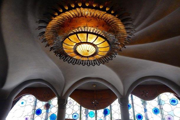 Потолок в Доме Бальо