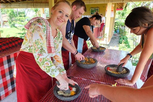 Кулинарный класс, деревня Лаплапан, Бали