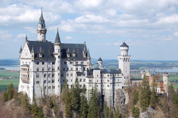 Замок Нойшванштайн. Бавария. Германия