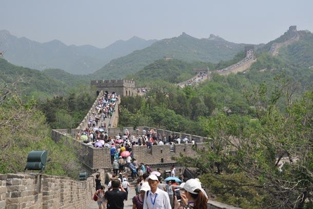Китай. Великая китайская стена и великое китайское столпотворение