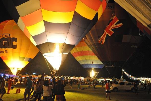 Чиангмай. Таиланд. Фестиваль воздушных шаров