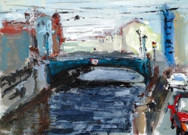 мост на Канале Грибоедова картина