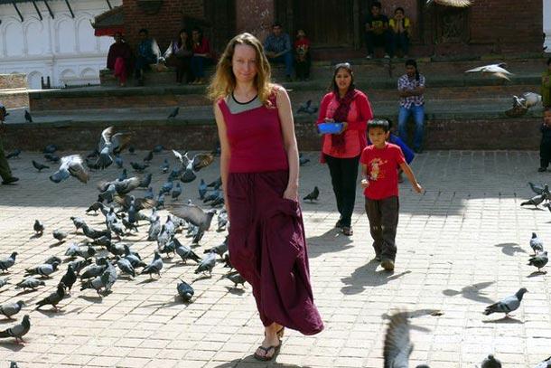 Площадь Дурбар. Непал